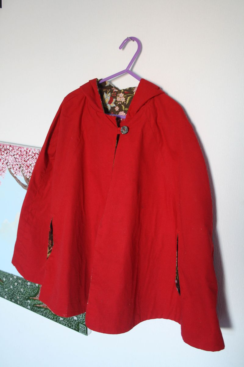 The red riding hood look